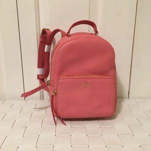 NWOT kate spade mini nicole backpack bag